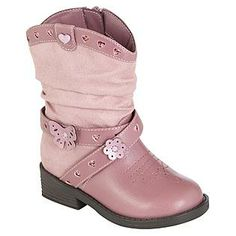 Toddler Girl's Renata Pink Western Fashion Boot for a Sheriff Callie birthday party