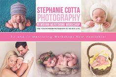 Newborn Mentoring Workshop | st. louis newborn photographer.  https://www.facebook.com/stephaniecottaphotography
