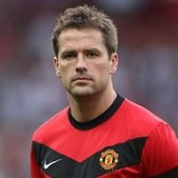 Micheal Owen  Manchester United...because my grandpa likes this team!!!