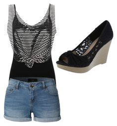 """""""Summer"""" by emma16-scott on Polyvore featuring M&Co and LE3NO"""