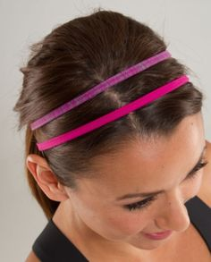 Cute head band and gym hair style Sporty Style 4d82ea6fd9c