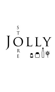 Jolly Store莍莉食品材料行名片(正面)。Logo Design / 名片設計。business card design.