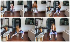 A quick and easy chair cardio routine you can do at home, work, or anywhere. These moves will have you sweating without leaving your chair.