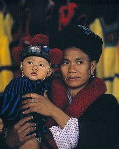 Mien Hill tribe, northern Thailand