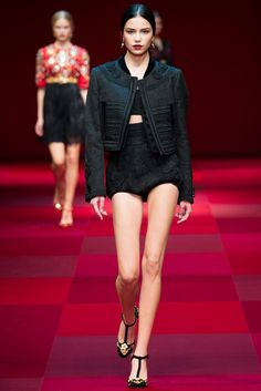 Dolce & Gabbana Spring 2015 Ready-to-Wear Fashion Show - Irina Sharipova (WOMEN)