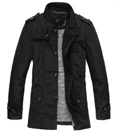 Save $25.04 on Mr. Baidis Men's Fashion Winter Jacket Slim Fit Waterproof Windbreaker F007; only $43.95 + Free Shipping