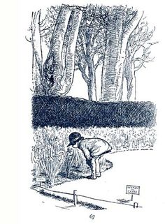 The Good Little Girl - Now We are Six, 1927, by A. A. Milne, with illustrations by E. H. Shepard