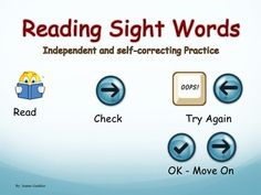 """This interactive Powerpoint helps your students independently practice reading Kindergarten and Grade 1 high frequency words starting with the most basic ones such as """"the"""" or """"and"""" and by the end moving on to words such as """"does"""" and """"couldn't"""". It contains 135 slides (116 individual high frequency word slides and 19 sentences slides), all with audio for the students to listen to after they have read a word or sentence, allowing them to self-correct mistakes."""