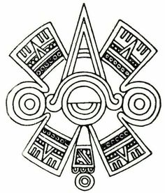 """Aztec glyph symbol of """"centered"""" Eye or Third Eye. Aztec glyph symbol of """"centered"""" Eye or Third Eye. Eye Tattoo Meaning, Tattoos With Meaning, Opa Tattoo, Samoan Tattoo, Tattoo Ink, Maya Art, Mayan Tattoos, Indian Tattoos, Symbol Tattoos"""