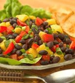 Black Bean & Mango Salad -