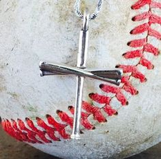 Baseball Bat Cross (Pendant Only) FREE CHAIN Friday Only Special