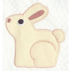 Sew Sweet Bunny Applique