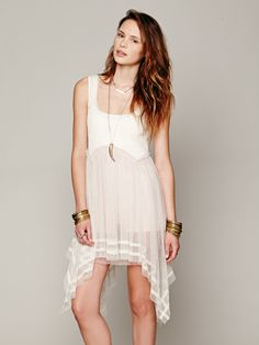 Free People FP X Tea For Two Slip, $78.00
