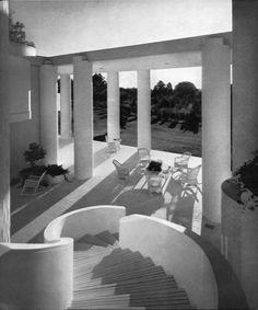 Wallace House, Athens AL  (1964)   Paul Rudolph   Image : Kelvin Dickinson