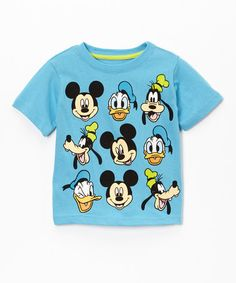 Blue Mickey Mouse Clubhouse Tee - Toddler by Mickey Mouse #zulily #zulilyfinds