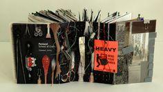 Gail Rieke, American collage and book artist.
