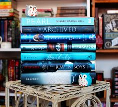 """trinareadsbooks: """" The Raven Cycle Photo Challenge Day 18: Blue """""""