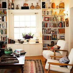 Living room by Swedish store owner of Dekor in LA... featured in Sunset magazine.