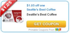 $1.05 off one Seattle's Best Coffee