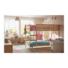 MYDAL Struttura per letto a castello, pino | Ikea e Colazione