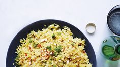 Spiced Jasmine Rice Pilaf ~ Turmeric or cinnamon? Nuts or raisins? The players may change, but the fundamentals of fluffy, fragrant rice pilaf are always the same.