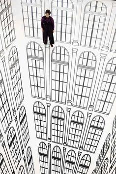 Surreal Architectural Optical Illusions - The Regina Silveira Series Redefines Interior Decor (GALLERY)