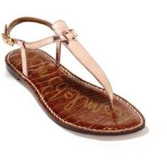Sam Edelman Gigi Thong: Rose Gold/Copper A gorgeous metallic sandal that can go with nearly everything in your wardrobe. A closet staple with its classic design that will never get old. Sandal has been worn no more than three times. Sam Edelman Shoes Sandals