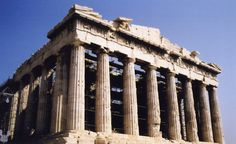 Many of the proportions of the Parthenon are alleged to exhibit the golden ratio.