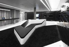 Black White Bespoke Seating Area
