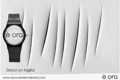 Dacci un taglio, #èora !! #luciofontana #concettospaziale #abelemalpiedi