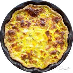 Cukkinis torta (pite, quiche) Quiche, Breakfast, Food, Morning Coffee, Essen, Quiches, Meals, Yemek, Eten