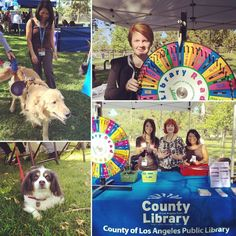 Were at the #HealthyPetExpo at Whittier Narrows Recreation Area Meadows Picnic Area! Visit us learn about the County #Libraries spin the wheel and win a prize. Weve already had some cute visitors to our table! TODAY Saturday April 16 from 9 am - 3 pm. Thanks to our friends at @LAPublicHealth @LACountyParks and @lacoanimalcare for organizing such a pawsitively purrfect day! #lacountylibrary #libraryoutreach #outreach #pet #dog #cat #losangelescounty #lacounty #petexpo