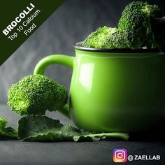Top 10 Calcium Food Broccoli Like Spread & Share 1cup of 1 cup of chopped and cooked Broccoli contain 6% of RDA (Recommended Daily Allowance) for calcium 15 of RDA for Vitamin E 245% of RDA for Vitamin K 135% of RDA for Vitamin C 42% of RDA for folate 21% of RDA for Fiber. Recommended Dietary Allowance for Calcium varies by the age. 1000mg/day for adults for age between 19-50. For women over 50 and men over 70 1200mg/day is recommended. Calcium benefit 4: High dietary calcium intake…
