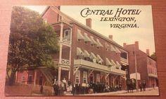 http://www.ebay.com/itm/RARE-ca-1908-LEXINGTON-VIRGINIA-CENTRAL-HOTEL-STREET-SCENE-HORSE-BUGGY-EMPLOYEES/263090522006