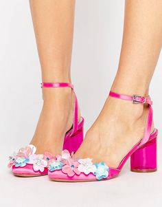 736eda240963 Flower Power Barbie Shoes! Pink High Heels