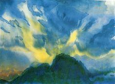 lonequixote: Mountain Lake ~ Emil Nolde