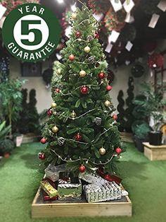 Festive Productions 14pc Snowman Xmas Decoupage Baubles Tree Decorations