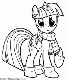 Imagenes De My Little Pony Para Colorear Buscar Con