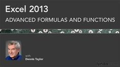 Lynda - Excel 2013: Advanced Formulas and Functions  http://tutdownload.com/all-tutorials/programming/microsoft/office/lynda-excel-2013-advanced-formulas-and-functions/