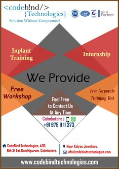 In-plant training is short period of time in an industry to gain the knowledge of the work culture.