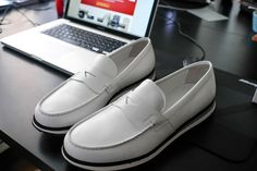 The Best Men's Shoes And Footwear : Pair of Prada Loafers for men - #Men'sshoes