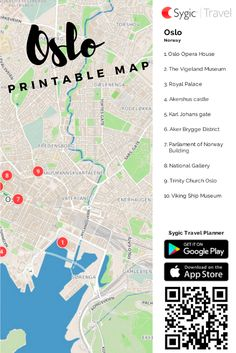 Free Printable Map Of Sydney Attractions Free Tourist Maps - Norway map highlights