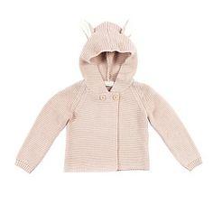 Stella McCartney Baby Smudge Hooded Cardigan