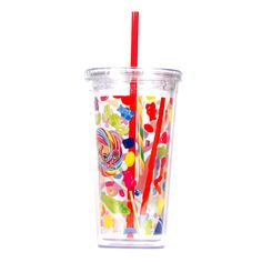 Dylan's Candy Bar Tumbler with Straw | Lifeguard Press
