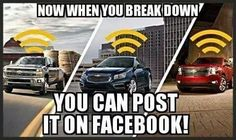 Good thinking Chevy ;) lol so true Funny Truck Quotes, Truck Memes, Car Jokes, Funny Memes, Truck Humor, Big Ford Trucks, Cool Trucks, Chevy Vs Ford, Ford Humor