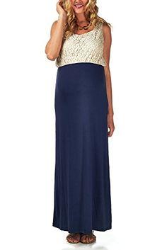 PinkBlush Maternity Navy Blue Crochet Top Maternity Maxi ... https://www.amazon.com/dp/B00MY9FEAG/ref=cm_sw_r_pi_dp_0QzGxbB1H5239