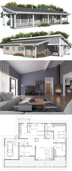 Small House Plan u2026 Pinteresu2026 - image de plan de maison