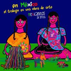 En México el trabajo es una obra de arte. Feliz día del trabajo!