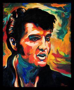 King Elvis. Artist: John Ross