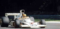 David Hobbs, McLaren-Ford M23, the 1974 Italian GP at Monza